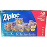 Ziploc Food Storage Containers with Lids Variety 24 Pack