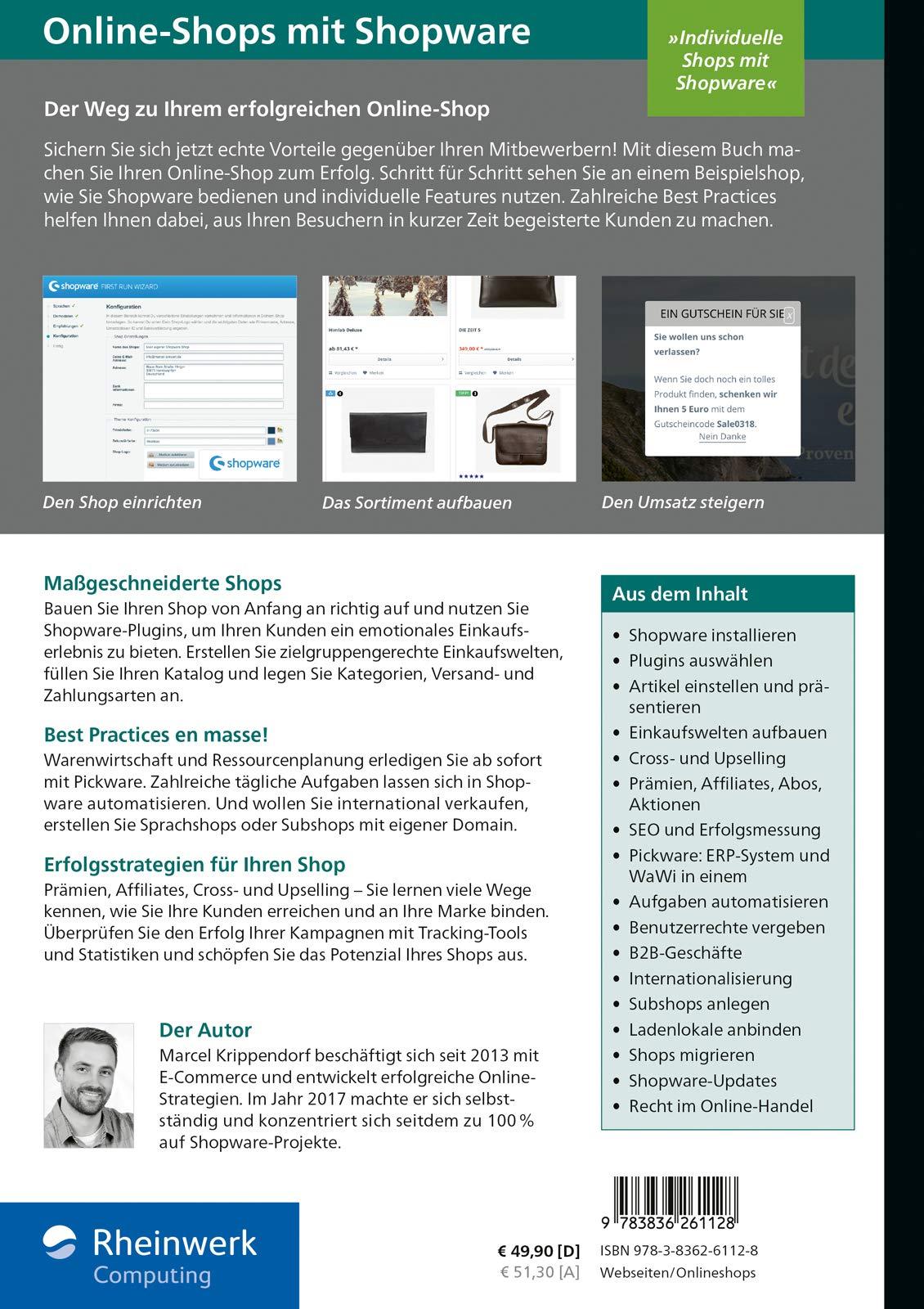 Online Shops Mit Shopware Das Umfassende Handbuch Alles Was Sie