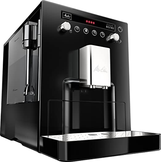 Melitta Mel6613822 Caffeo Bistro Fully Automatic Bean To Cup Coffee Maker Black