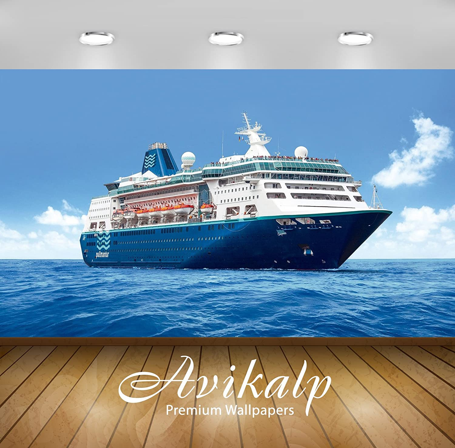 Buy Avikalp Exclusive Awi3156 Travel With Beautiful Ship Empress Full Hd Wallpapers 9 X 7 Ft Online At Low Prices In India Amazon In