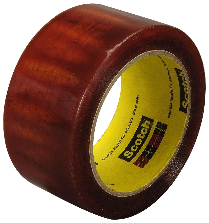 Scotch Light Duty Packaging Tape 610 Clear Heat Resistant 1 in x 72 yd