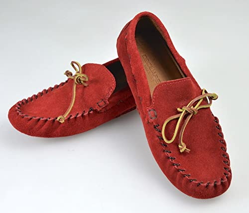 le dernier 7d19b 5a643 DSQUARED2 Man Mocassin Loafer Shoes RED Suede Code S12 DR102 ...