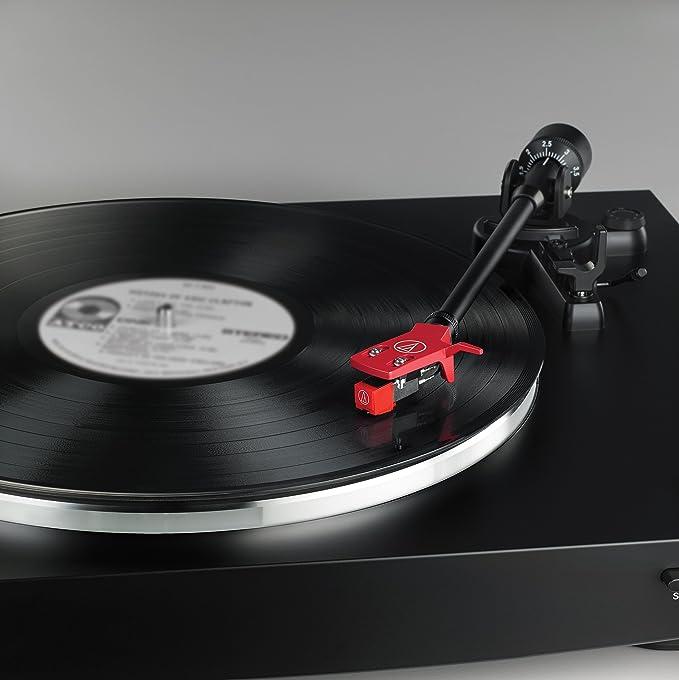 Audio-Technica AT-LP3BK tocadiscos estéreo totalmente automático ...