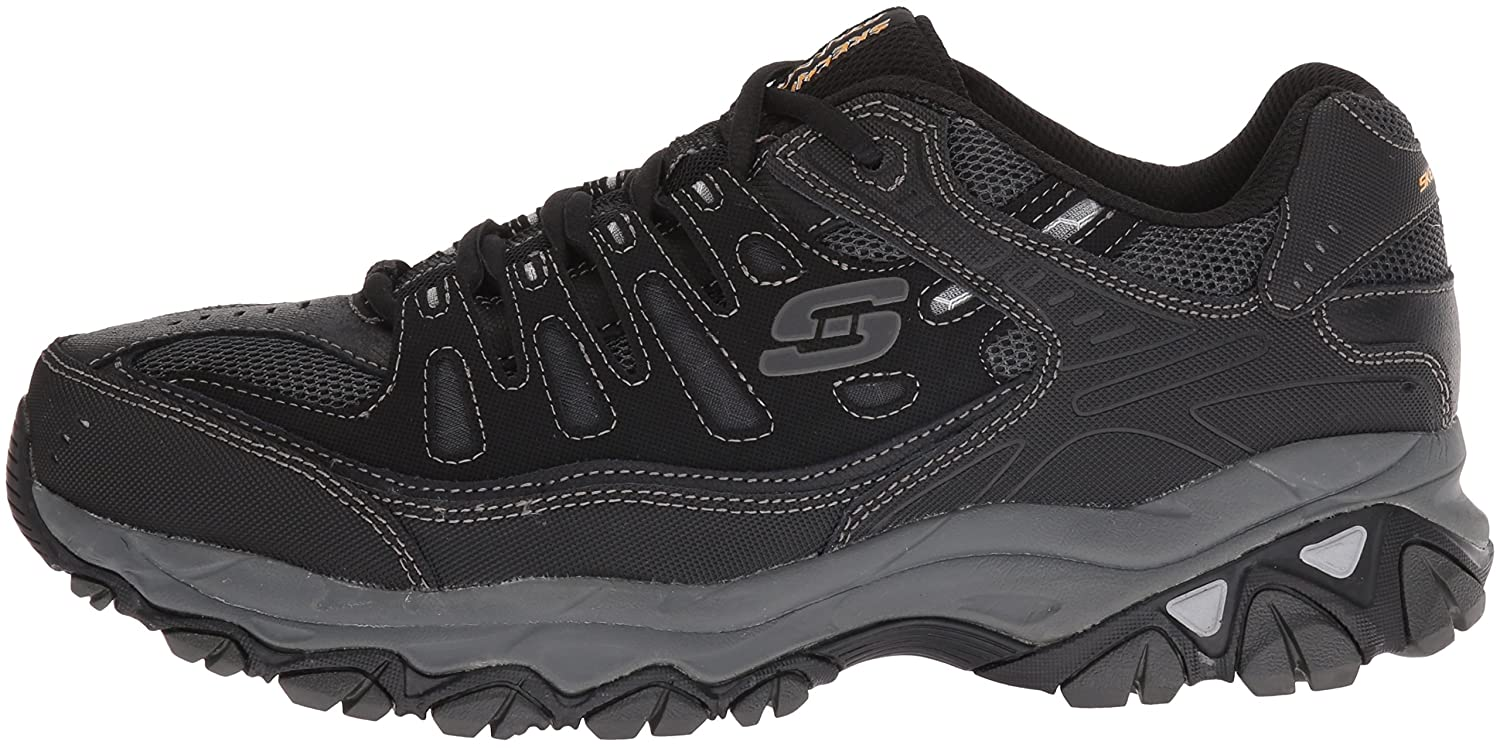 Skechers-Afterburn-Memory-Foam-M-Fit-Men-039-s-Sport-After-Burn-Sneakers-Shoes thumbnail 9