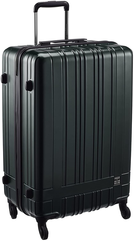[シフレ] ハードジッパースーツケース 保証付 70.0L 61cm 3.8kg MCL2075-61 B077Y8FG6W グリーン