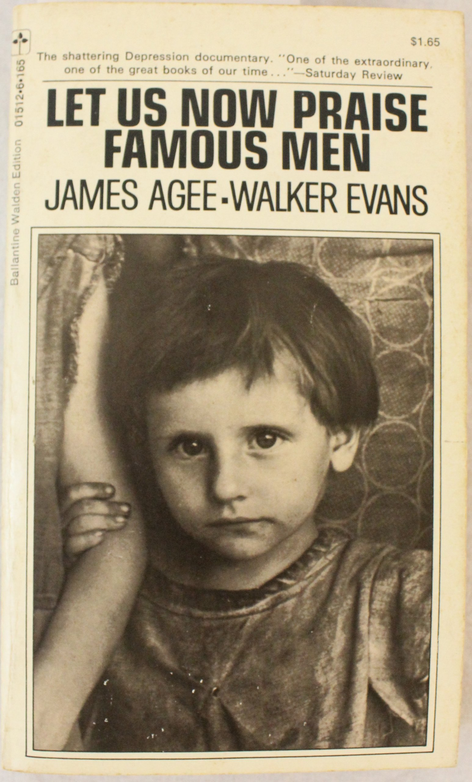 Image result for let us now praise famous men walker evans james agee