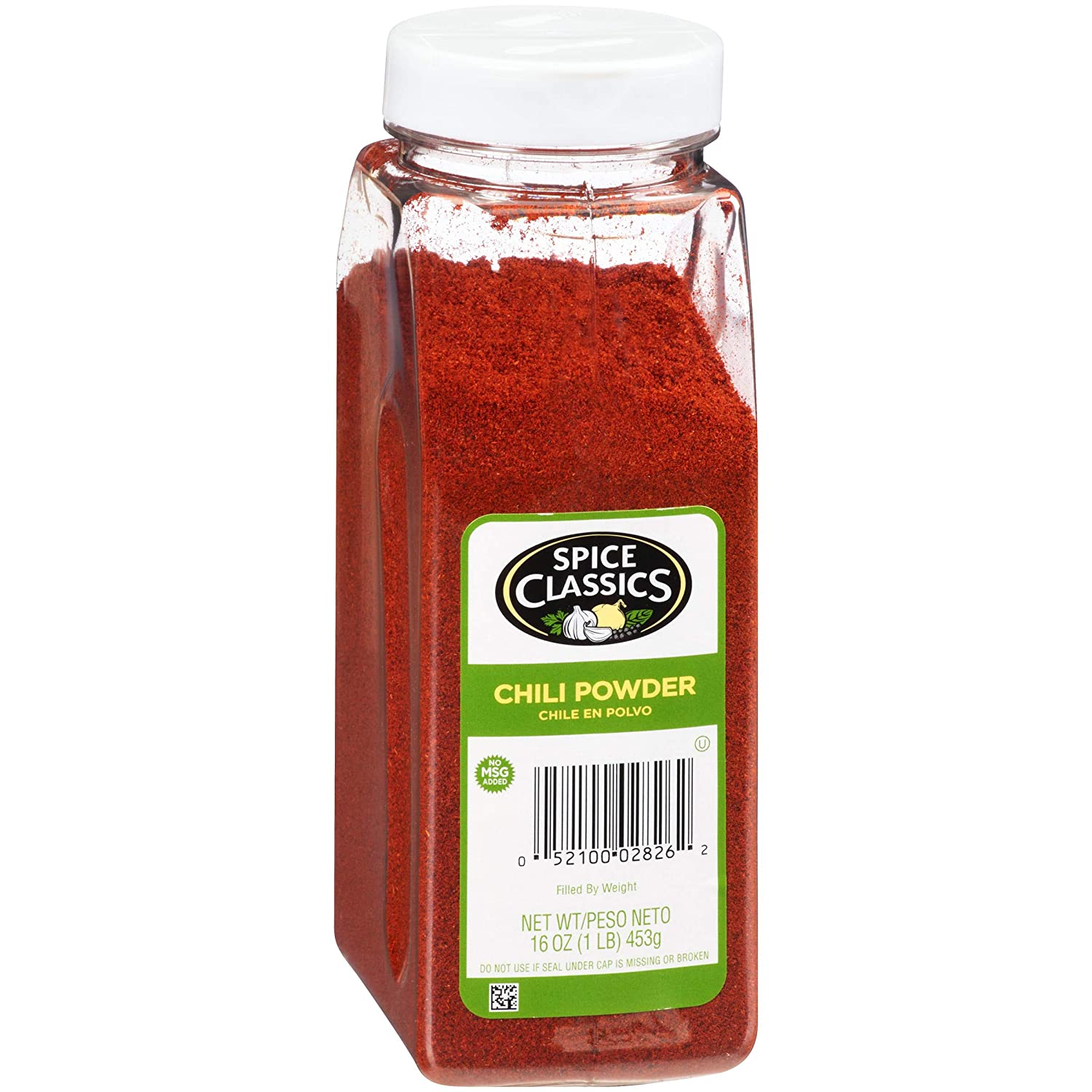 Spice Classics Chili Powder, 16 oz