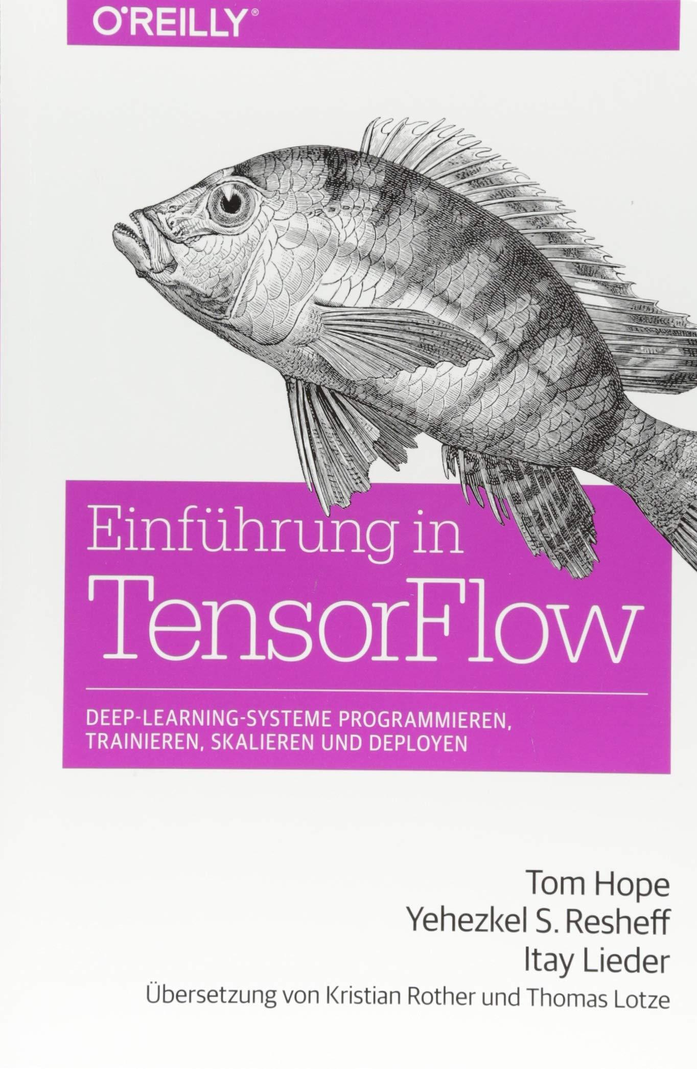Einführung in TensorFlow: Deep-Learning-Systeme programmieren, trainieren, skalieren und deployen Taschenbuch – 22. Mai 2018 Tom Hope Yehezkel S. Resheff Itay Lieder Kristian Rother