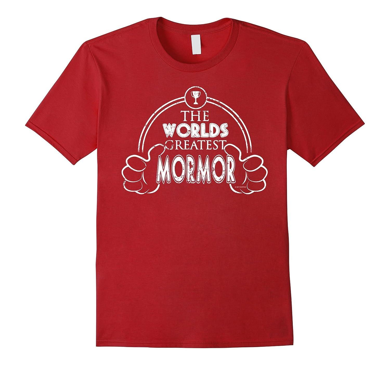 Worlds Greatest Danish Mormor Shirt-TH