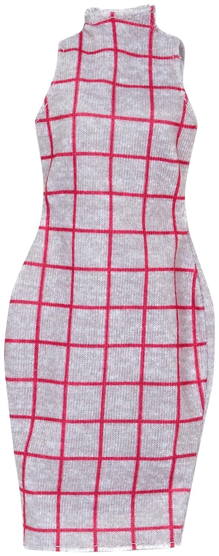 Barbie Fashions Grey Dress Mattel FCT18