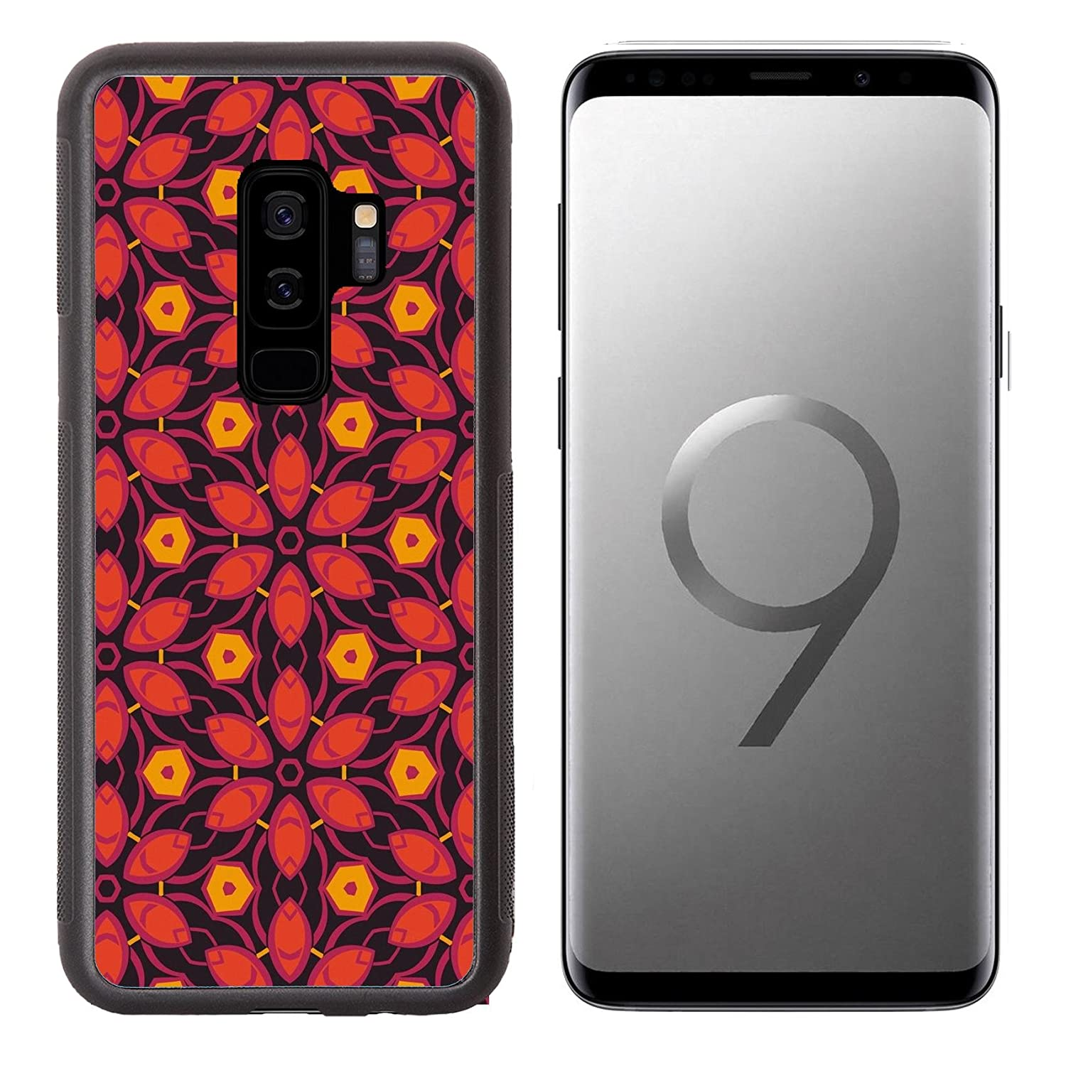Amazon Com Liili Premium Samsung Galaxy S9 Plus Aluminum Backplate Bumper Snap Case Abstract Pattern Wallpaper Seamless Background Image Id 14678198 Cell Phones Accessories