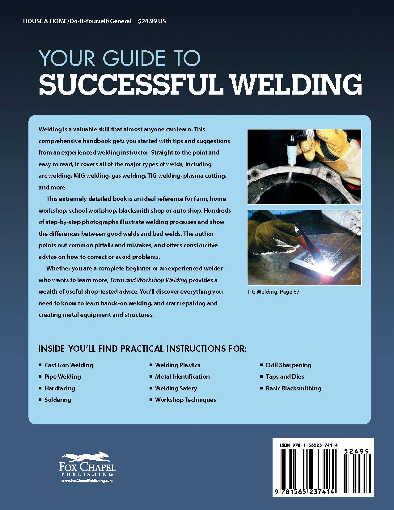 Farm and Workshop Welding: Everything You Need to Know to Weld, Cut ...