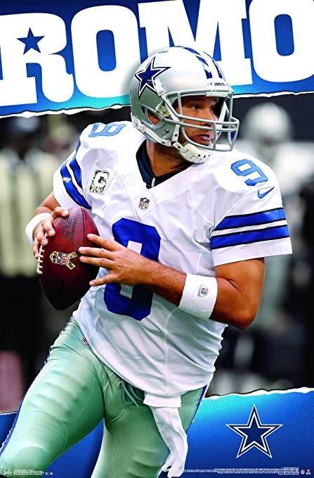 Image Unavailable. Image not available for. Color  Trends International  Dallas Cowboys Tony Romo Wall Posters ... 807652815