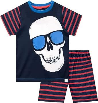 Harry Bear Pijama Corta para niños Cráneo