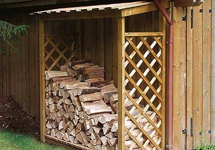 Leñero para exterior de madera - ENVIOS SOLO A PENÍNSULA