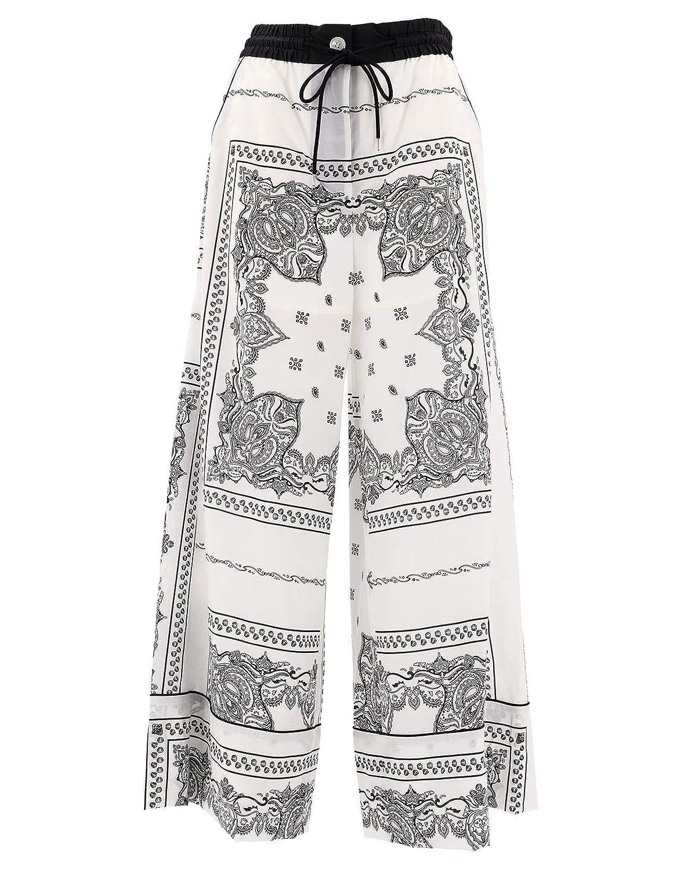 Sacai Women's 1904269151 White Polyester Pants