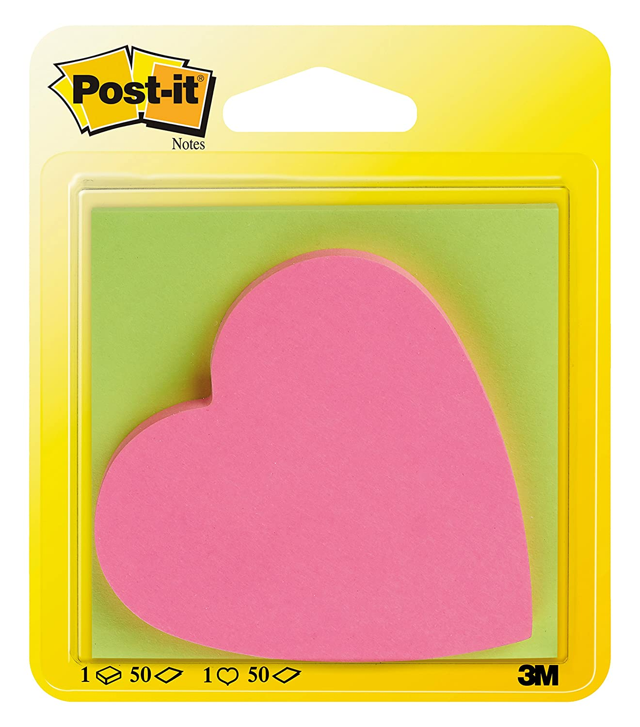 Rio Post-it Haftnotizen Super Sticky Notes 76 x 76 mm