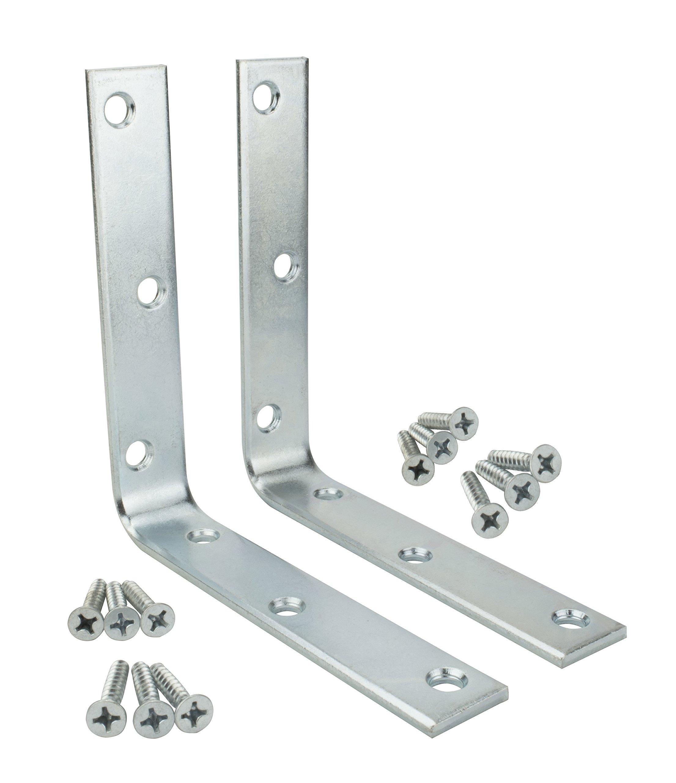 Specialty Hardware Corner Brace 6 inch Zinc Plated 20pcs