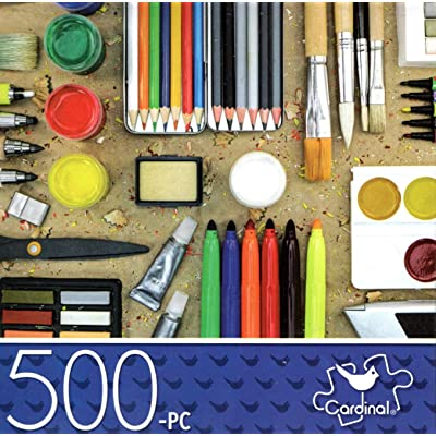Craft Supplies - 500 Piece Jigsaw Puzzle p 017: Toys & Games