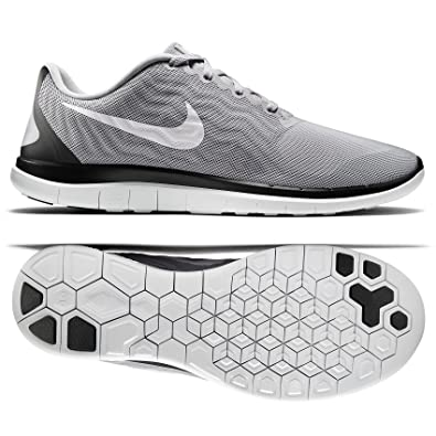 new styles 0263f e0582 Nike Free 4.0 717988 010 Wolf Grey White Black Men s Running Shoes (15