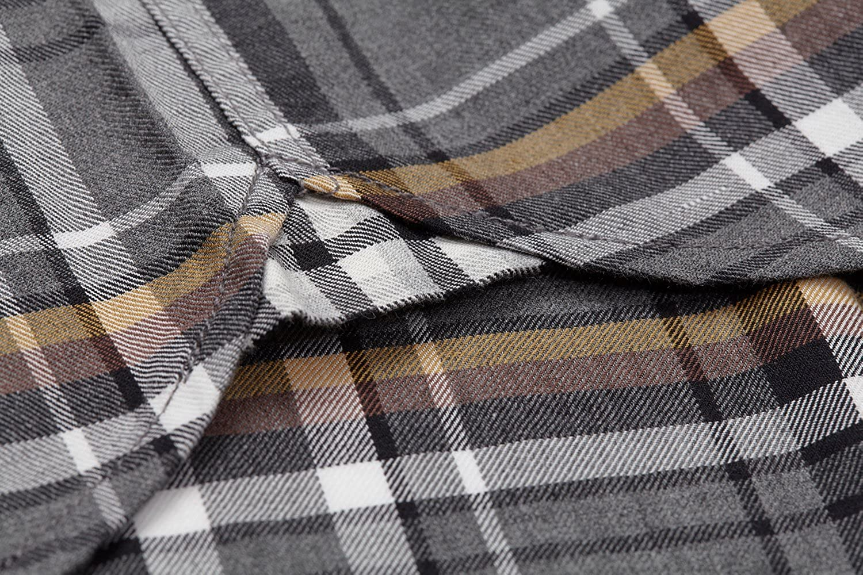 Boston Traders Mens Long-Sleeve Plaid Flannel Shirt