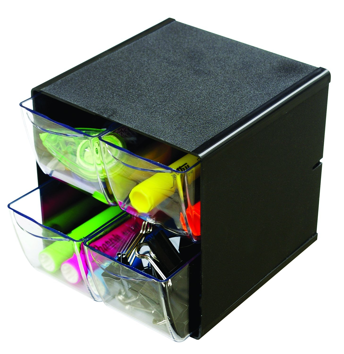 Deflecto 350201 X-Divider Cube Organiser - Crystal Yearntree Limited