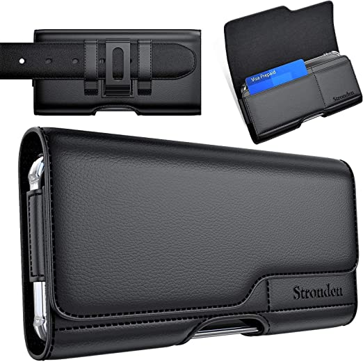 NEW style handmade Sleeve wallet from genuine leather iPhone 11 pro max xs all models cell phone  with pocket card free initials belt loop