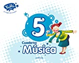 CUADERNO MÚSICA 5 - 9788468312637