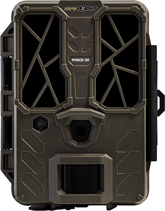 SPYPOINT FORCE-20 Trail Camera 20MP HD Video w/ 48x High Power LEDs & Infrared Boost Tech for Great Night Image