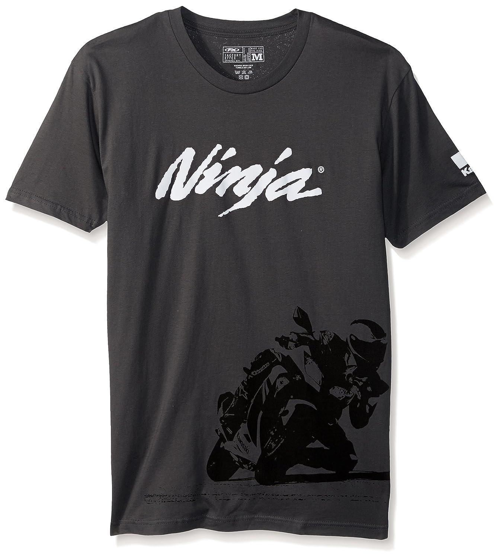 Ninja T-Shirt Heather Grey, Medium 18-87132 Factory Effex