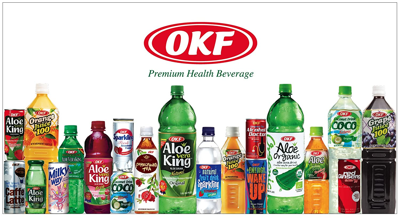 Okf - Bebida De Aloe Vera Organico Con Sabor A Litchi (Lichi, Lychee) 500Ml: Amazon.es: Alimentación y bebidas