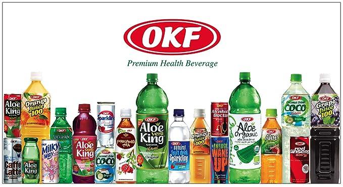 Okf - Bebida De Aloe Vera Organico Con Sabor A Melocoton 500Ml: Amazon.es: Alimentación y bebidas
