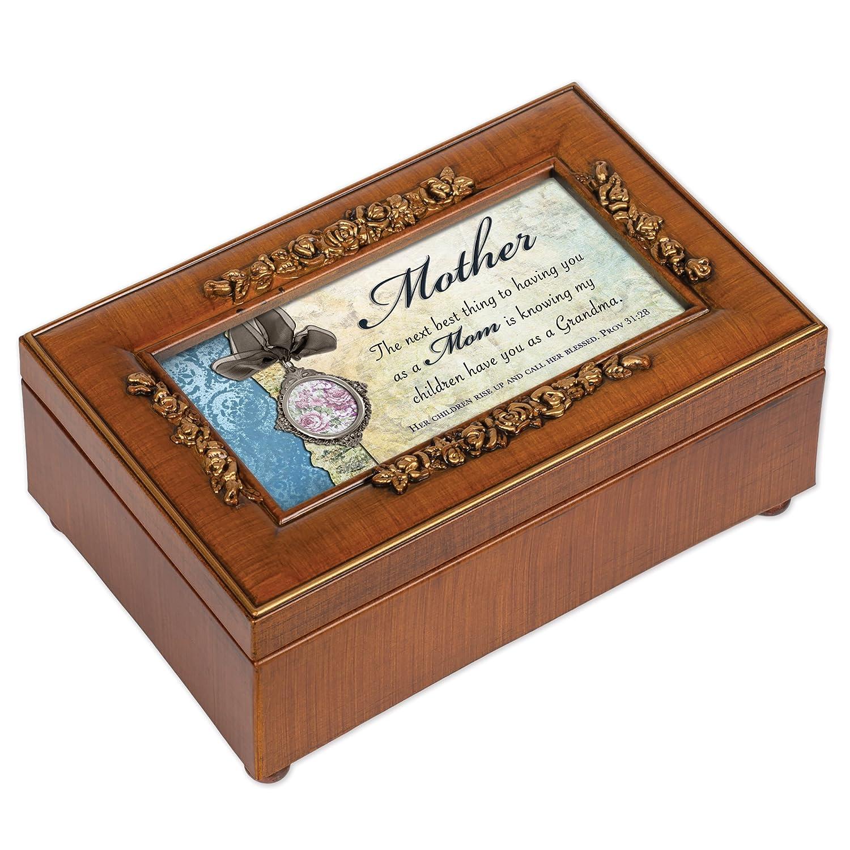 【ご予約品】 母リッチウォールナット仕上げ小柄ジュエリー音楽ボックス – Plays How Great Thou Great B00KMDIXEU Art Art B00KMDIXEU, BOOKS 21:24840590 --- arcego.dominiotemporario.com