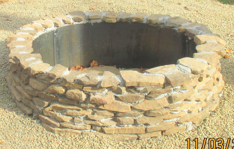 Higley Welding Steel Round Fire Pit Metal Campfire Ring Liner 12'' Deep x 45'' Diameter by Higley Welding