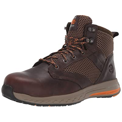 Timberland PRO Men's Drivetrain Mid Composite Toe Eh Industrial Boot | Industrial & Construction Boots