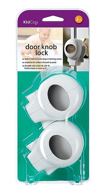 Amazoncom KidCo Door Knob Lock White 5 Pack Childrens Home