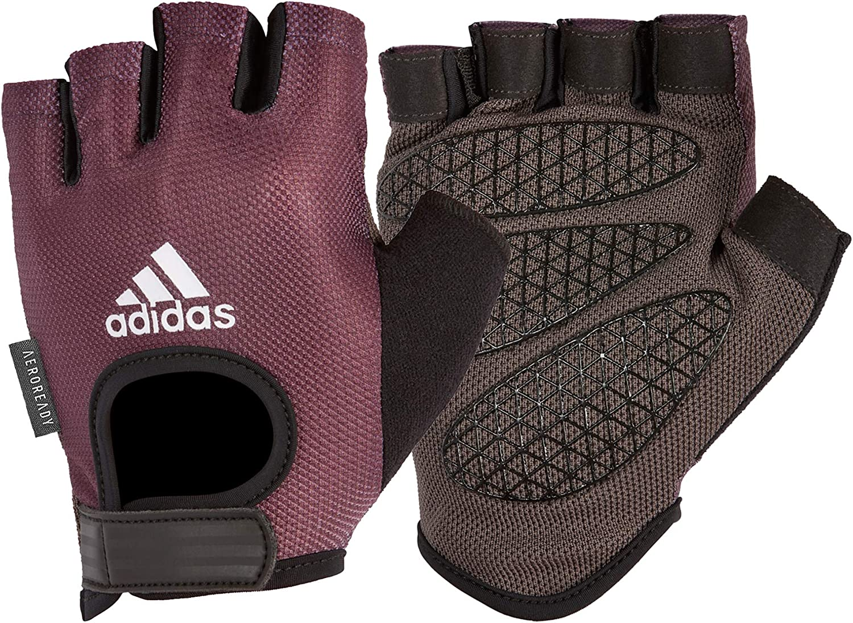 Ordenado esponja Revisión  Amazon.com : adidas Women's Performance Glove - Purple, X-Large : Sports &  Outdoors