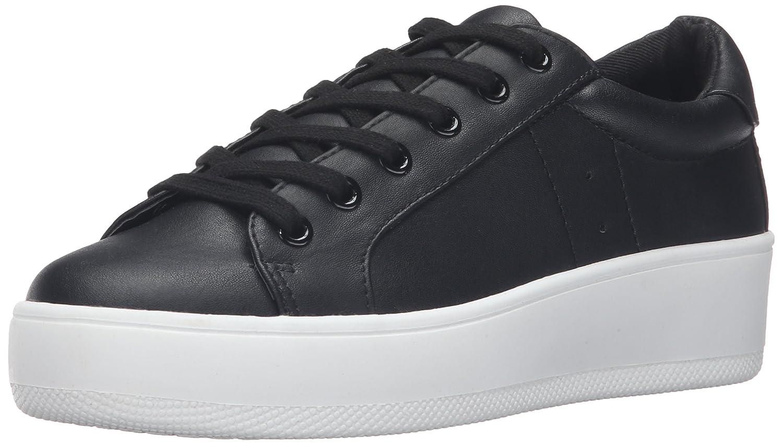 Steve Madden Womens Bertie Suede Fashion Sneaker B01CJN038E 7 B(M) US|ブラック ブラック 7 B(M) US