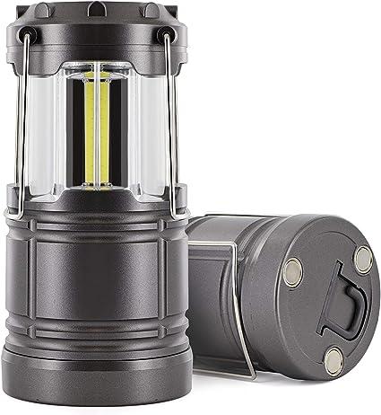 Portable Flashlight COB LED Light Emergency Outdoor Hiking Camping Lanterns Lamp