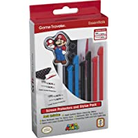 Officially Licensed Nintendo 3DS Mario Stylus Pen and Screen Protection Pack – Fits 3DS XL and New 3DS XL