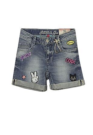 Shorts Jeans Girls SLIM%2c blau%2c blue denim Lemmi T7OeT6S