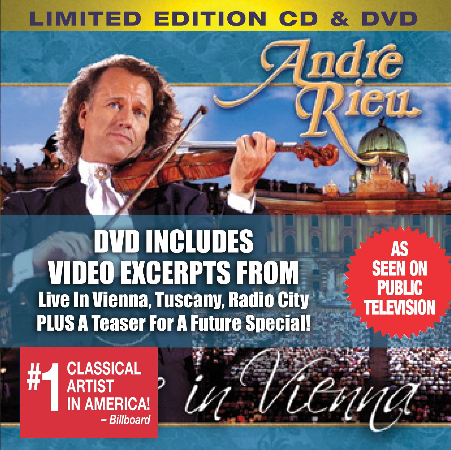 Live in Vienna, Limited Edition (CD & DVD)