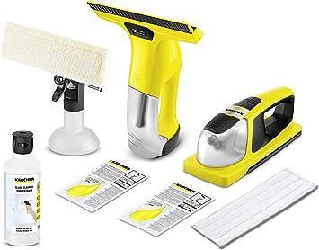 Kärcher WV 6 Plus 1.633-510.0 + Kärcher - Aspirador de ventanas con batería para limpiacristales KV 4 + RM 500 (0,5 L): Amazon.es: Bricolaje y herramientas