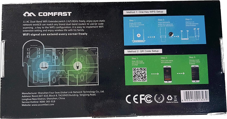 Aigital WiFi repetidor Extensor de Red WiFi N300, Puerto LAN, WPS 300Mbps Mini Wireless Extensor de Rango Inal/ámbrico Ap Amplificador Repeater Booster Wireless N 2.4GHz Universal EU Enchufe
