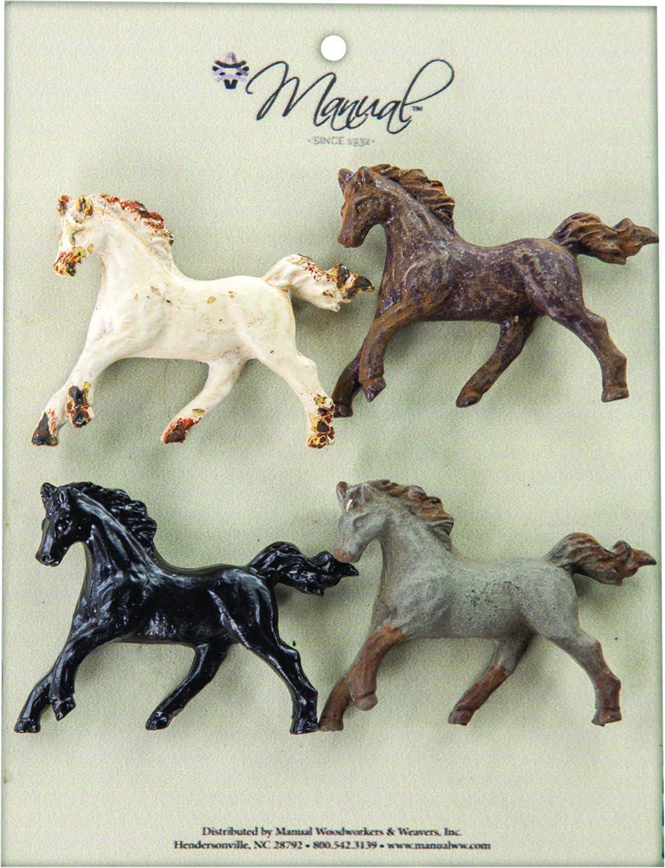 for Your Desk Horse Magnet Set of 4