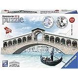 Ravensburger Ponte di Rialto Bridge, 216pc 3D Jigsaw Puzzle