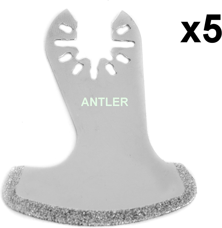 3/X Antler Diamant de coffre Lames Dewalt Stanley Worx F30/Erbauer Black /& Decker Outil multifonction oscillant Qab58db