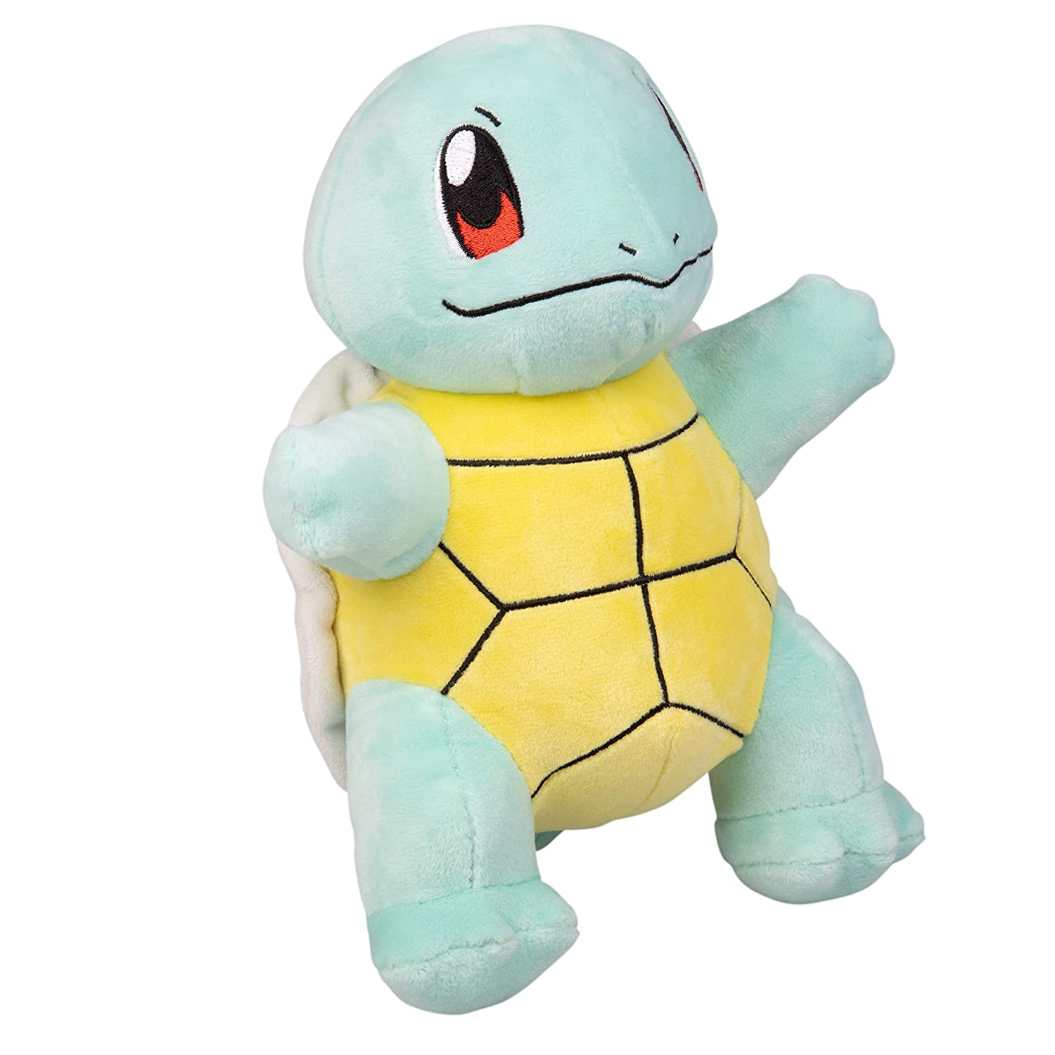 Poké mon Squirtle Plush Stuffed Animal Toy - 8' Wicked Cool Toys