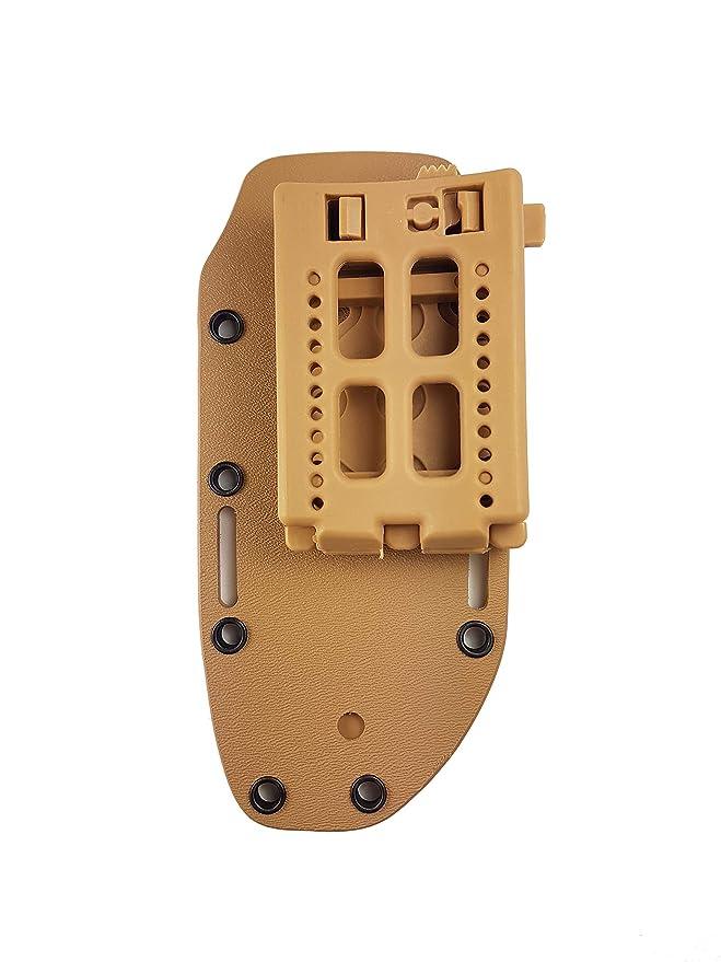 Bio Mordiscos Pack TAC Clip + Funda prefabricada de kydex (Mediana) para Cuchillos.