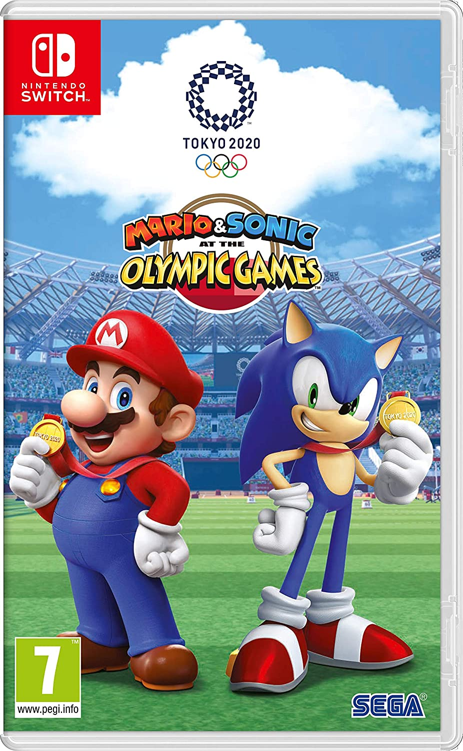 Mario And Sonic At The Olympic Games 2020.Mario And Sonic At The Olympic Games Tokyo 2020 Amazon Co